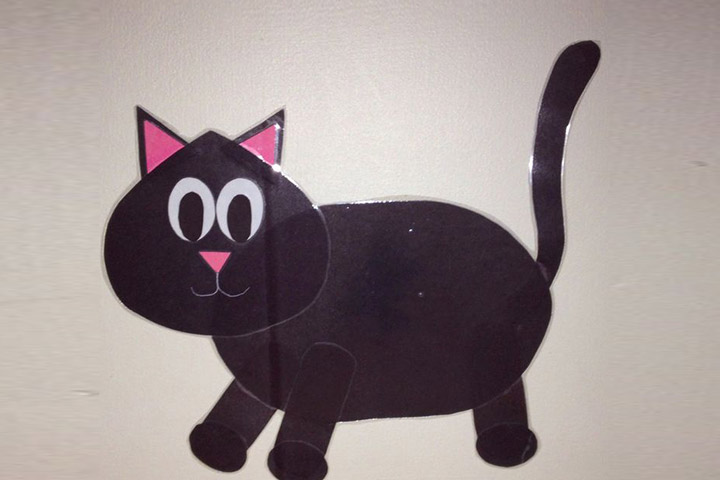 24 best and simple halloween halloween crafts for kids ga57 for Cat crafts for toddlers