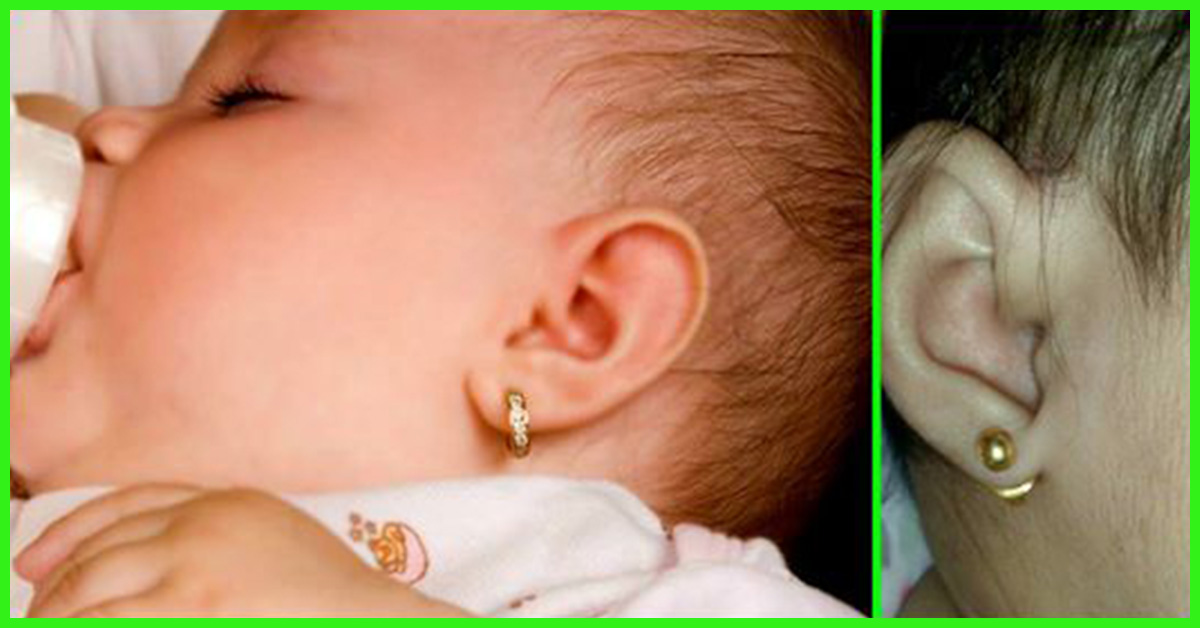When And How To Get Babys Ears Pierced