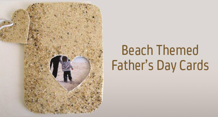 beach themed father's day cards