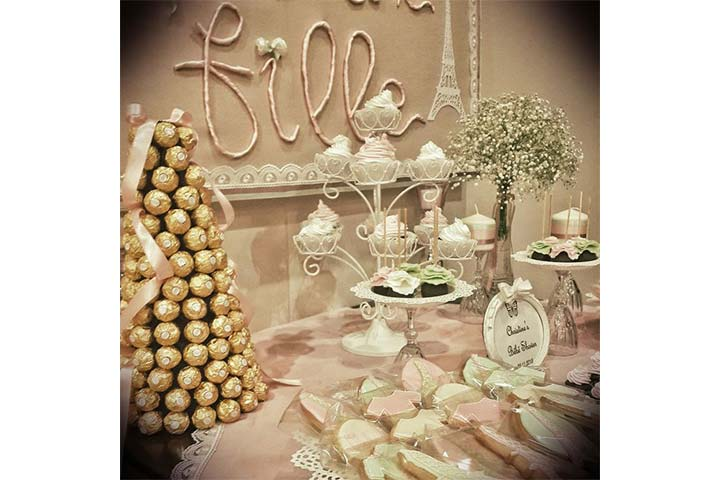 French/Parisian Baby Shower