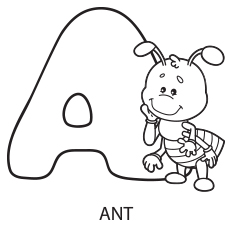 Alphabet Coloring Worksheets For Toddlers - coloring ...
