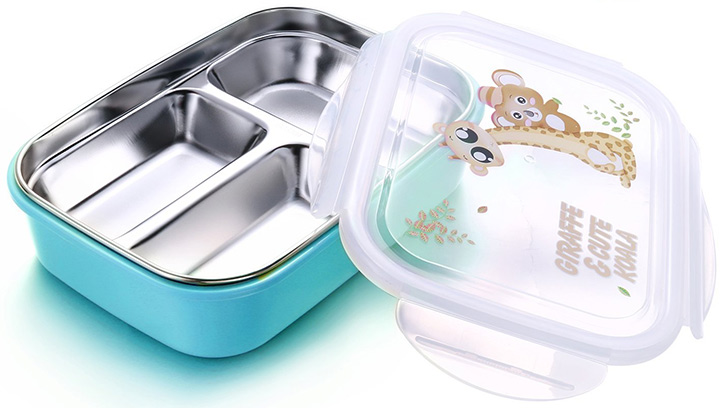 Alphah Stainless Steel Bento Box