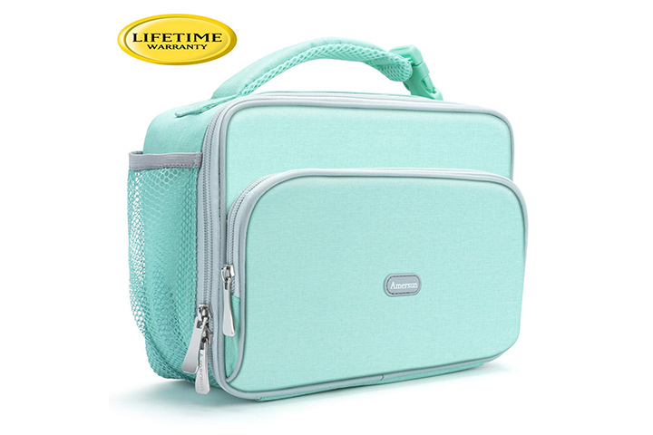 Amersun Durable Insulated School Lunch Bag