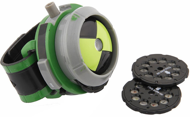 Ben 10 Style Projector Watch