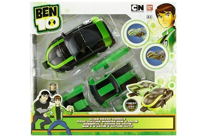 Ben 10 Ultimate Alien – Alien Crash Vehicle