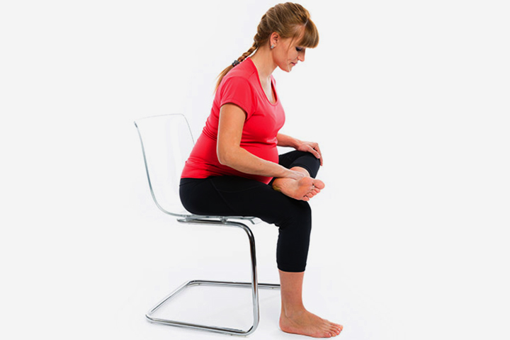 Chair-seated exercise
