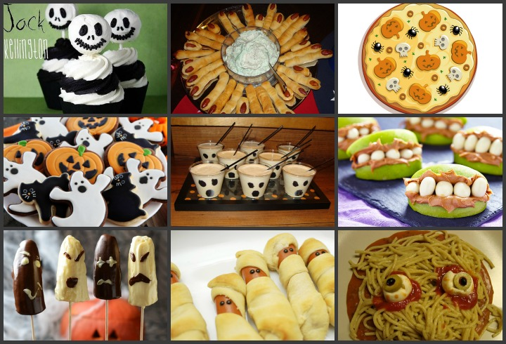 scary halloween food ideas your kids will love - Halloween Kid Foods To Make