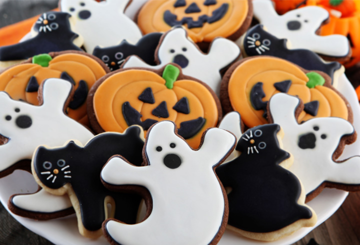 alien cookies - Halloween Kids Images
