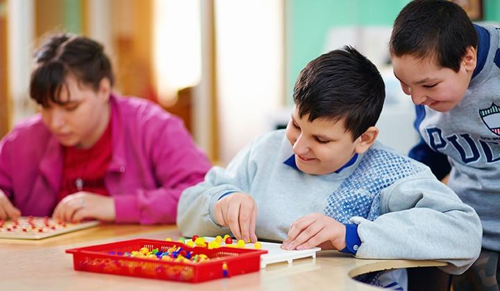 Autistic Children Art Projects