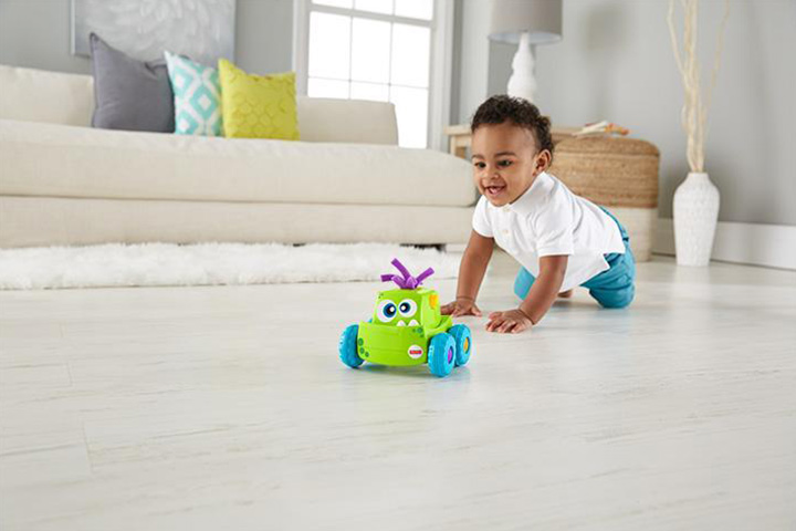 Fisher-Price Press and Go Monster Truck