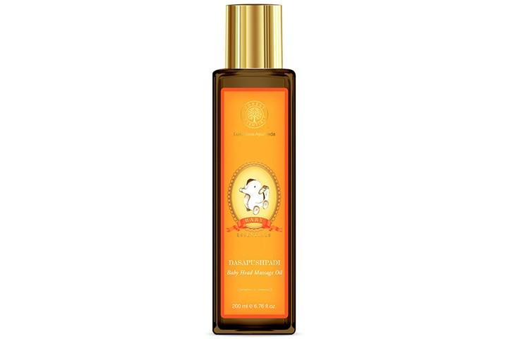 Forest Essentials Dasapushpadi Baby Head Massage Oil