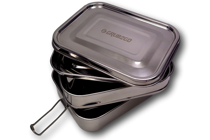 Grub2go Stainless Steel Lunchbox