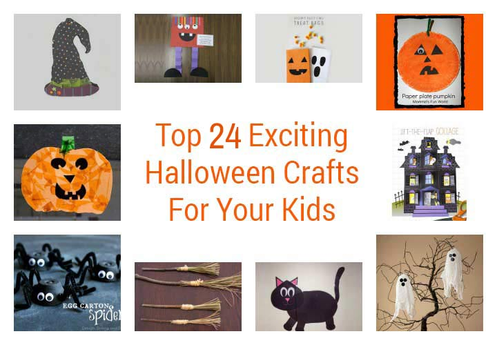 Halloween Crafts For Kids With Pictures