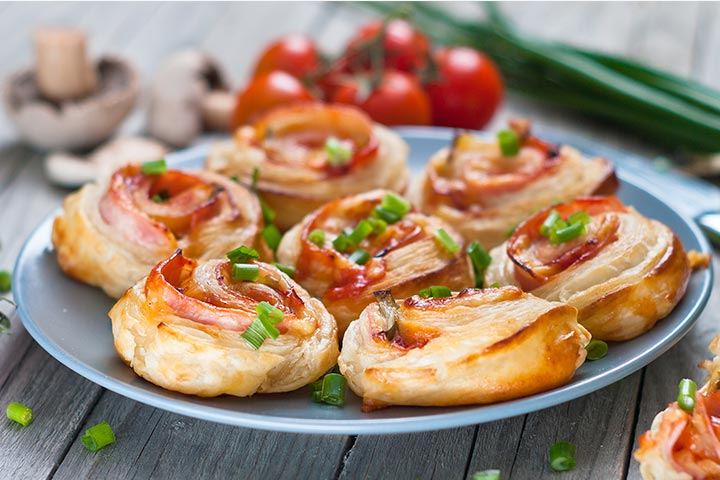 Ham-And-Cheese Pinwheels - Quick Finger Foods Pictures