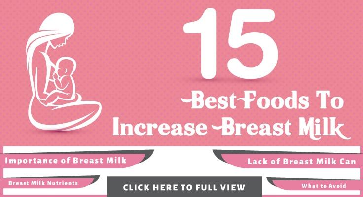 25 Best Foods To Increase Breast Milk-4105