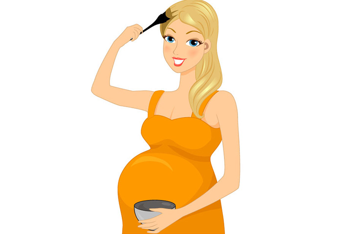 is it safe to colour your hair during pregnancy