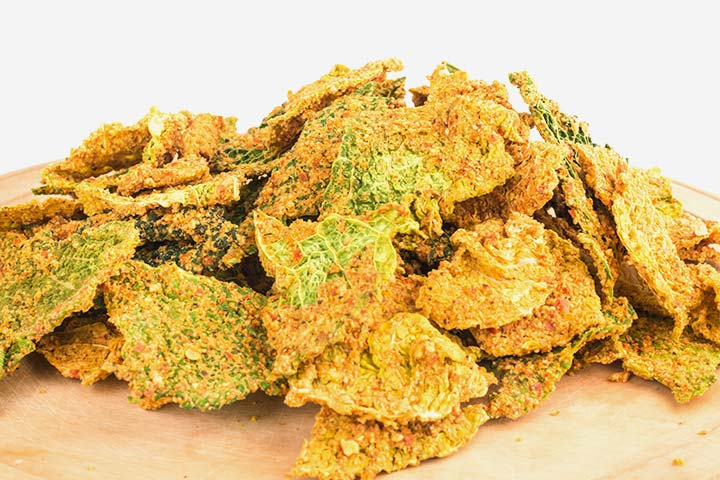 Kale Chips - Cold Finger Food Recipes For A Crowd