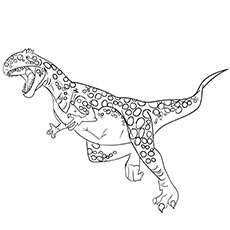 Megalosaurus image for coloring