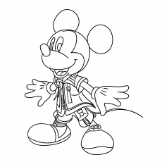 Mickey Kingdom of Hearts