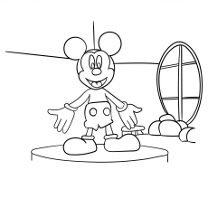 Mickey Mouse Clubhouse Coloring Sheets – azspring | 230x230