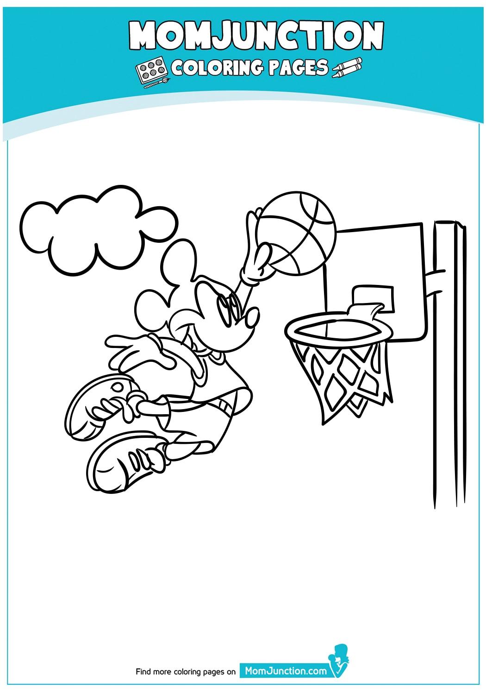 Mickey-Mouse-Playing-Basket-Ball