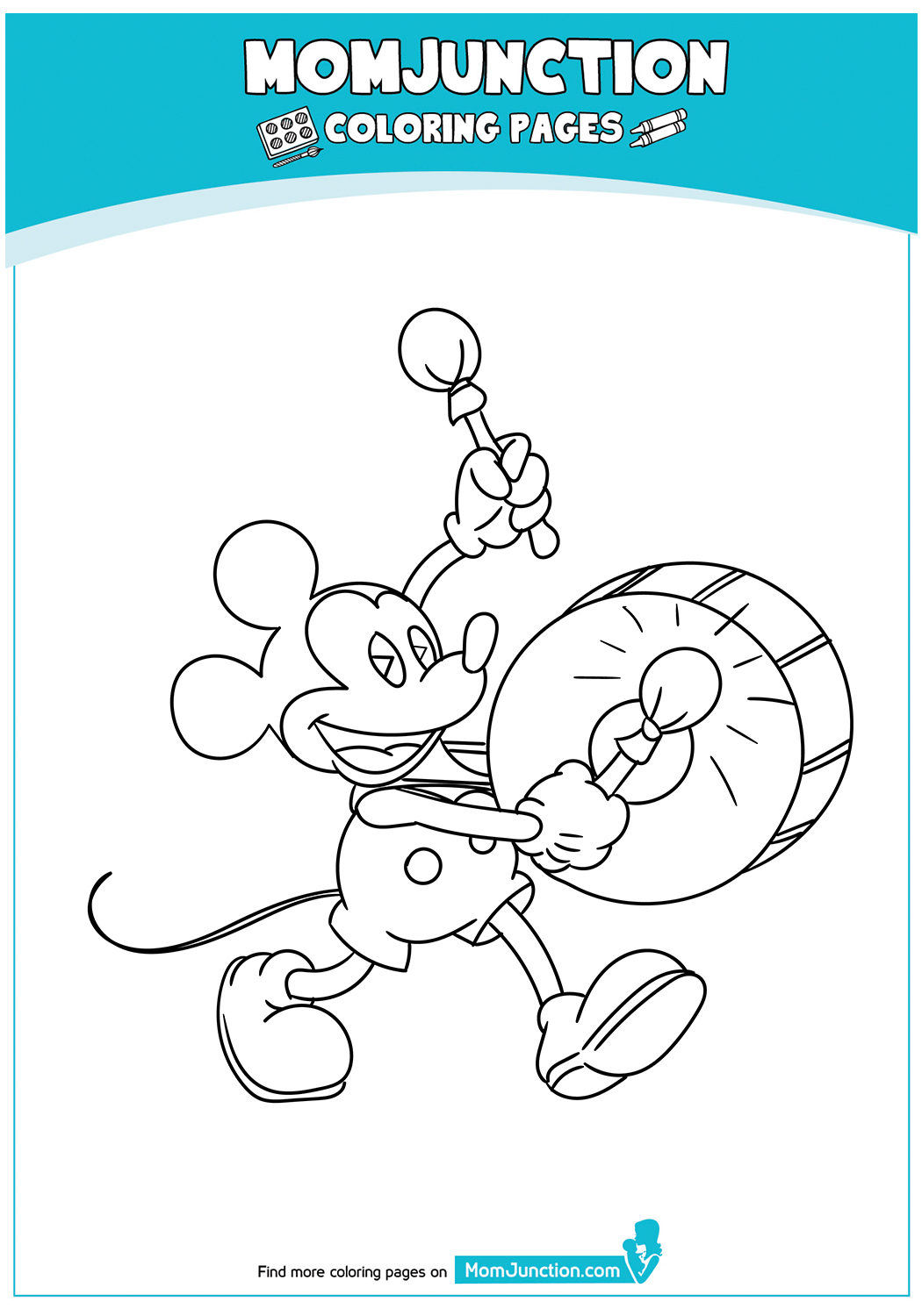 Mickey-Mouse-Playing-Drums-17