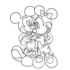Mickey and Minnie in Romance