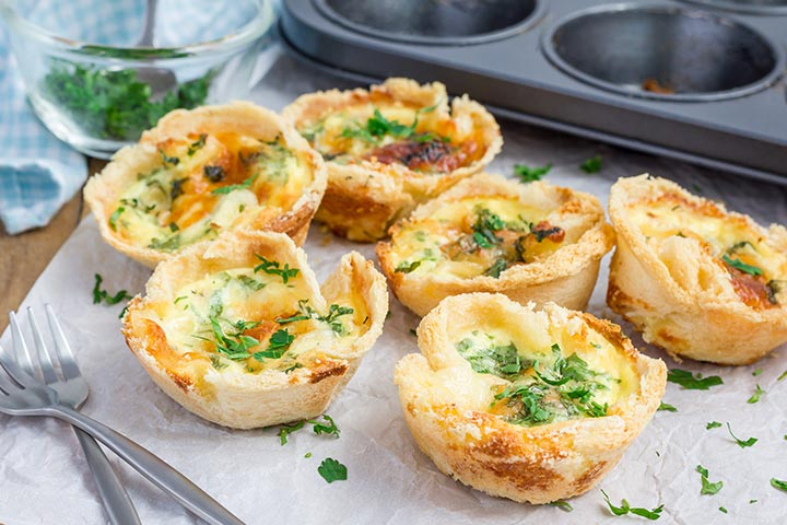 Mini Quiches - Party Easy Finger Food Recipes Pictures