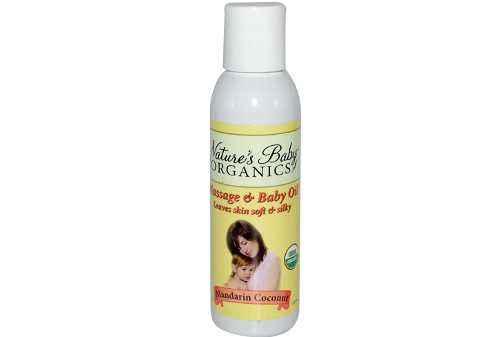 Nature's Baby Organics Hair Oil
