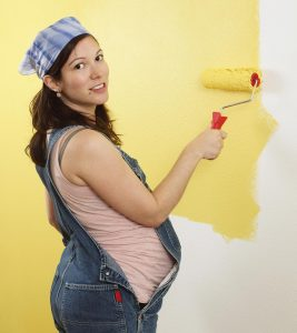 Painting When Pregnant