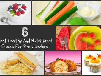 6 Best Healthy And Nutritional Snacks For Preschoolers