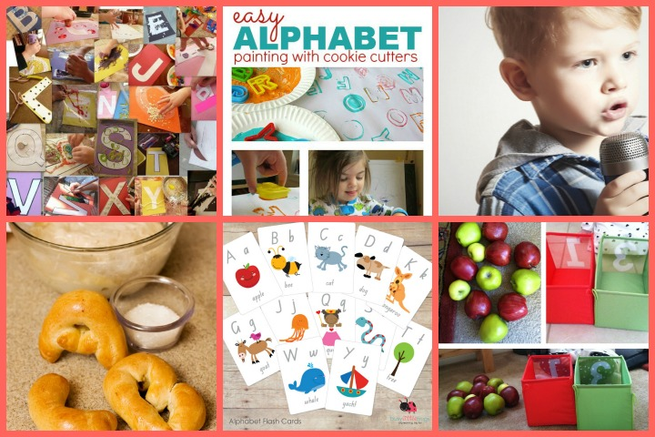 alphabet activities for your toddlers