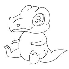 Red Baby Dinosaur 17