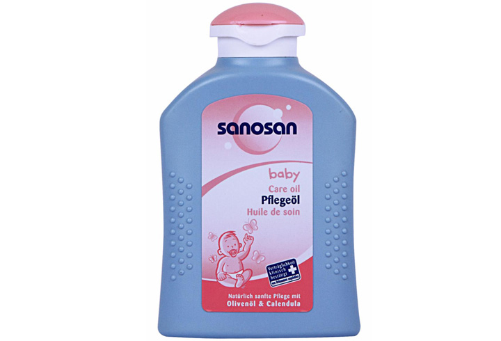 Sanosan Baby Hair Oil