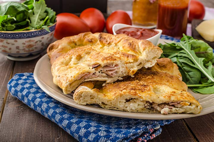 Spinach Calzones - Finger Foods Pictures