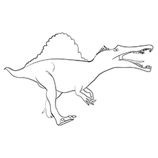 Spinosaurus Printable coloring images
