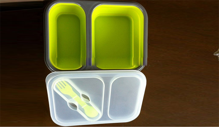 Standard Silicone Rectangle Lunch Box