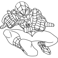Supreme Court Frees Spiderman Coloring Page
