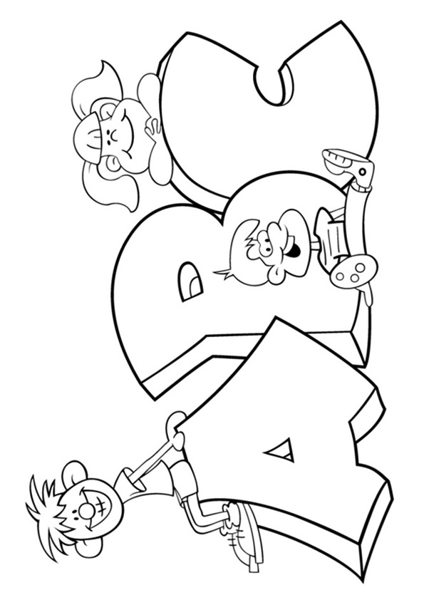 The-Alphabet-Parade-coloring-page