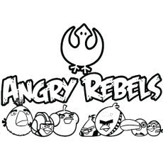 Angry Rebels Coloring Pages