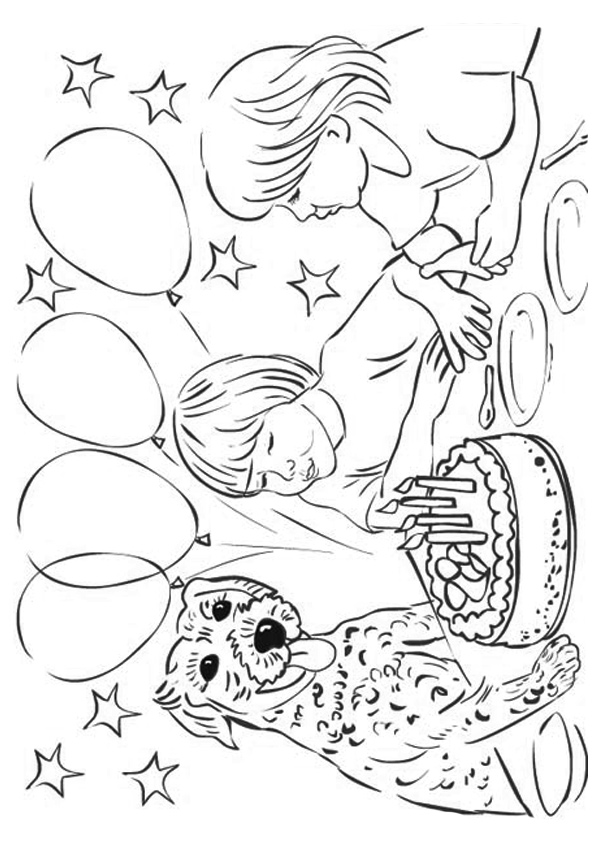 The-Blowing-the-Candles-coloring-page