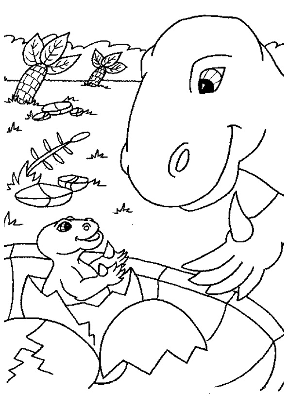 The-Dinosaur-With-Mamma