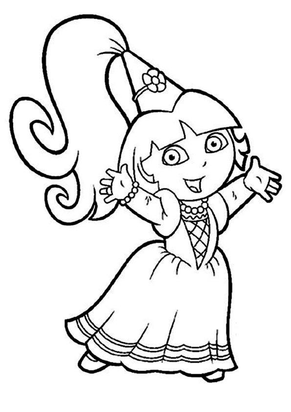 The-Dora-as-a-Fairy-Princess