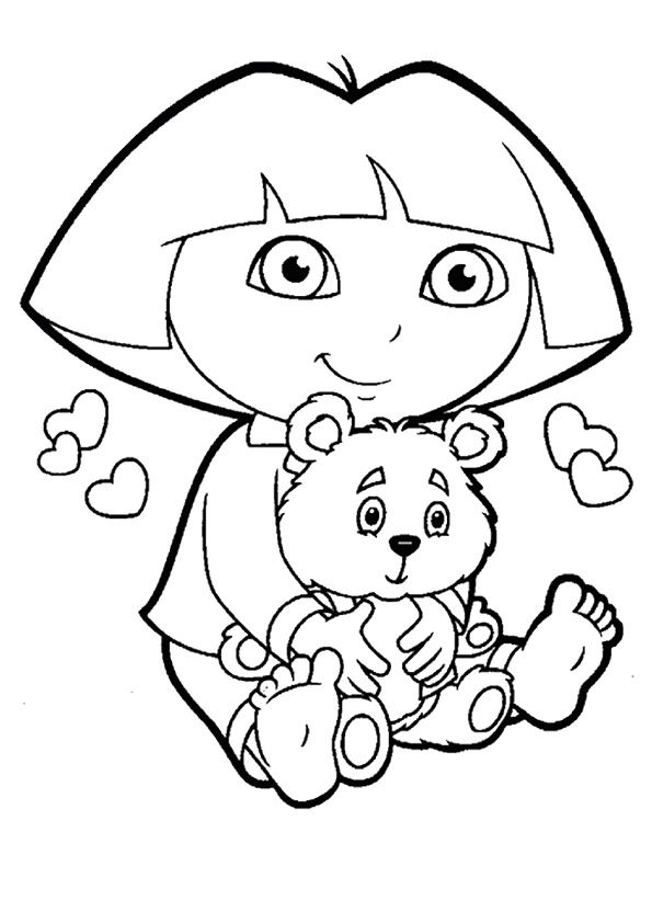 The-Dora-with-a-Teddy