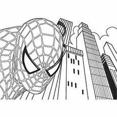 Spiderman Famous Pose Coloring Pages