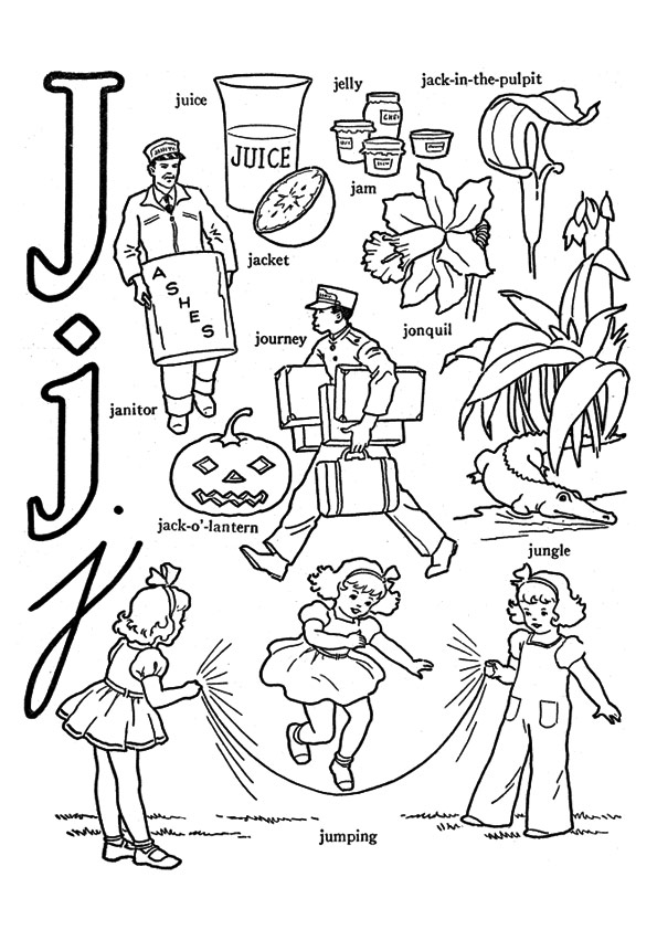 The-J-Alphabet