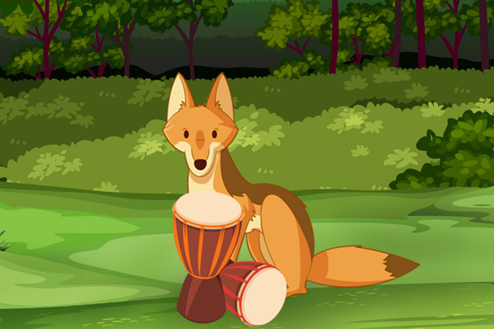 The Jackal And The Drum