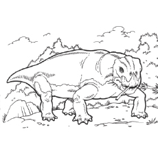 Free Printable Lystrosaurus Coloring Pages