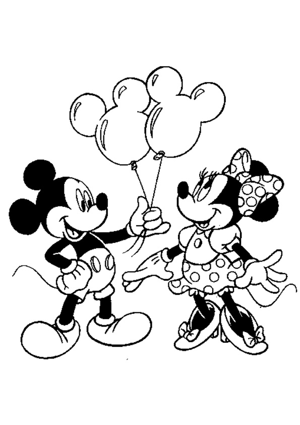 The-Mickey-Mouse-Giving-Balloons