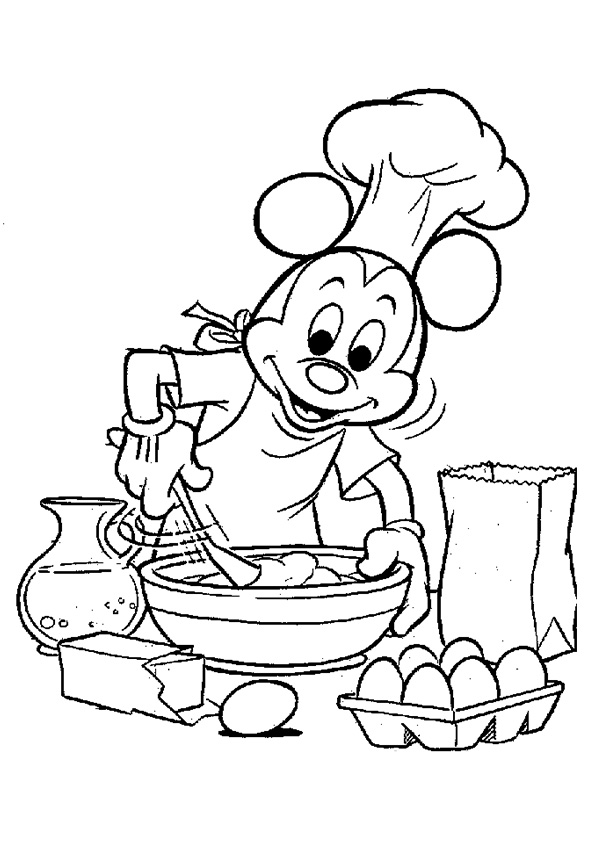 The-Mickey-Mouse-is-Baking-A-Cake
